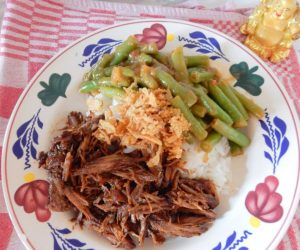 Asian style pulled beef.bordJPG