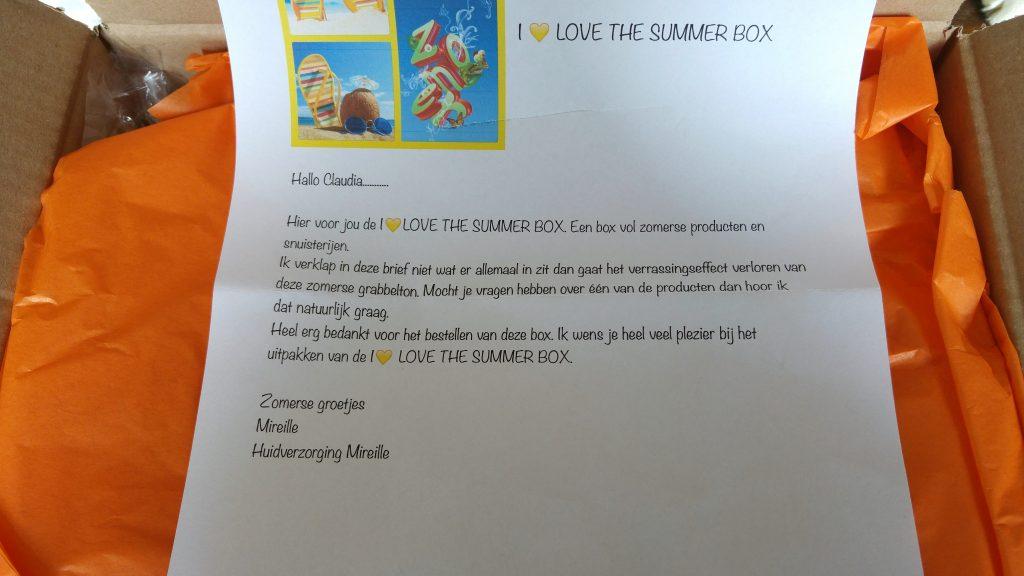 i love the summer box brief