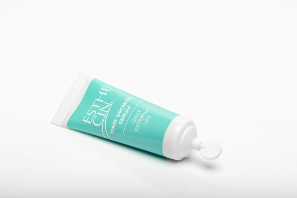 Esthecin het nieuwe haargroei middel tube