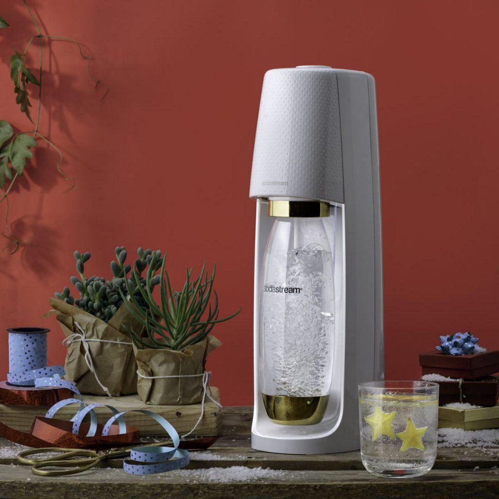 SodaStream lanceert Gold Edition bruiswatertoestel