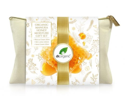 Kado tip: Dr Organic Manuka Honey December Giftset