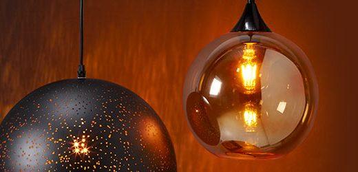 Hanglampen een sieraad voor het plafond