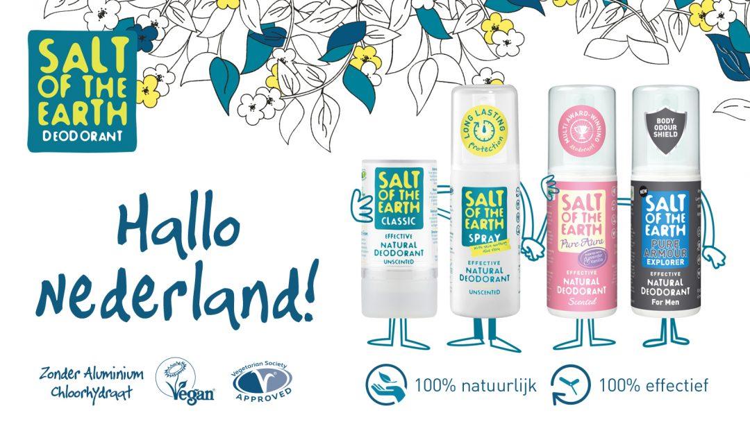 Salt of the Earth natuurlijke, chemicaliënvrije deodorant