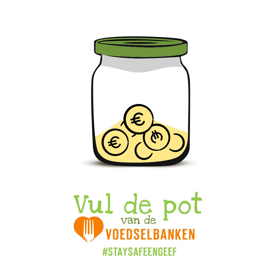 Groentefabrikant HAK roept Nederland op: vul de pot van de voedselbanken!