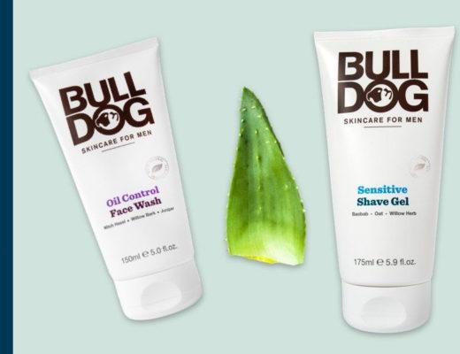 Bulldog Natuurlijke huidverzorging vóór mannen