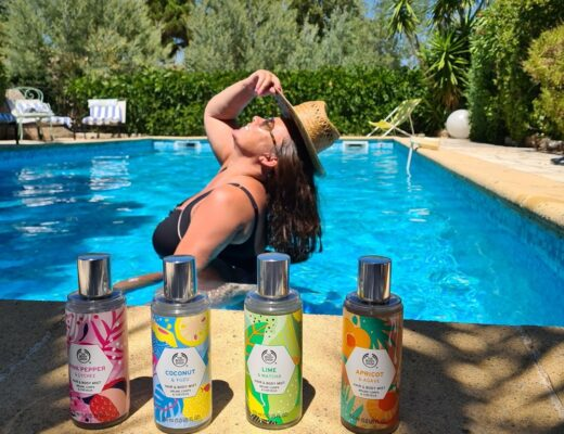 Superfood: The Body Shop HAIR & body Mists