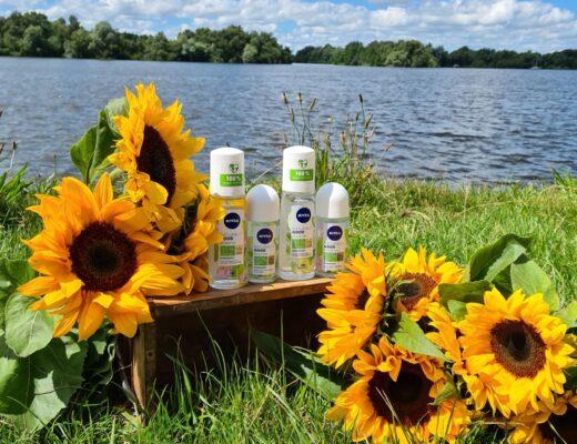 Natuurlijke, frisse bescherming met deNIVEANATURALLY GOOD deodorants