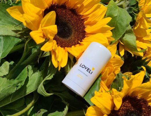 Loveli deo's met zinkoxide bij zweet door stress, emoties en hormonen
