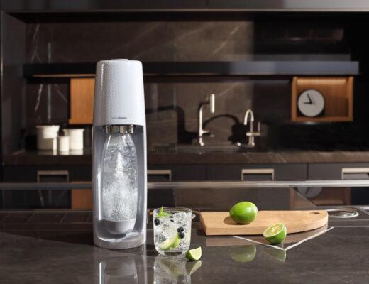 Feestdagen: SodaStream lanceert Décor Edition in Urban Grey