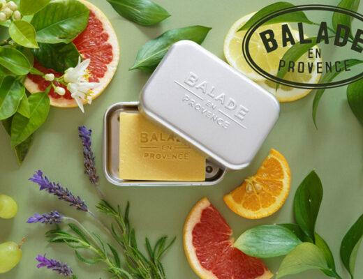 BALADE EN PROVENCE breidt uit met nieuwe 100% biologische,Vegan Beauty Bars voor Gezichtsreiniging, Haarverzorging en Mannen!
