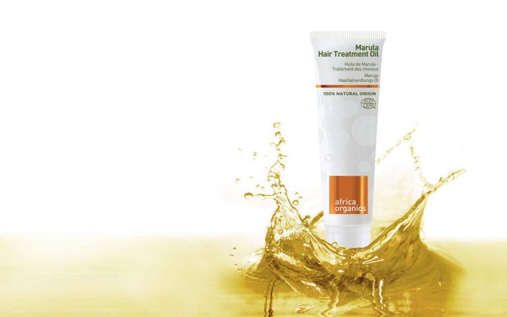 Africa Organics Marula Hair Treatment Oil hairboost met de power van Afrikaanse oliën